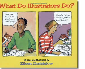 What Do Illustrators Do - Community Helper Labor Day Books for Kids