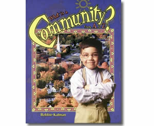 What is a Community from A to Z - Community Helper Labor Day Books for Kids