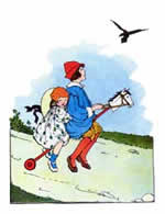 The Farmer and the Raven - Mother Goose Nursery Rhymes