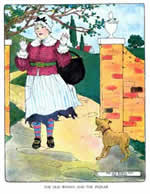 The Old Woman and the Pedlar  - Mother Goose