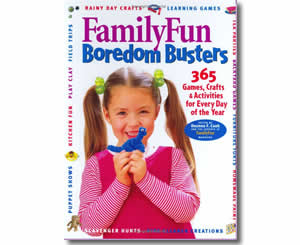 FamilyFun Boredom Busters: 365 Games, Crafts & Activities For Every Day of the Year - Mother's Day Crafts and Activities for Kids - Mothers Day