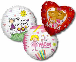 Mother's Day Balloons - Mothers Day Balloon Bouquets