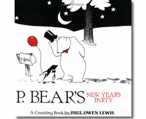 P. Bear's New Year Party! - New Year Books for Kids