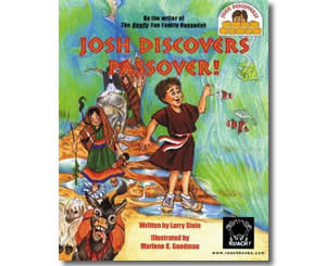 Josh Discovers Passover! - Jewish Passover Books for Kids