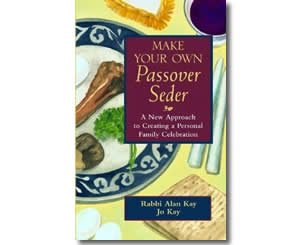 Make Your Own Passover Seder - Jewish Passover Books for Kids