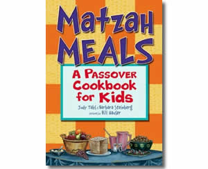 Matzah Meals: A Passover Cookbook for Kids - Religious Jewish Passover Crafts for Kids