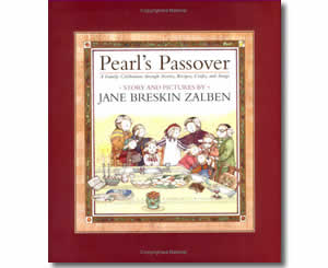 Pearl's Passover : A Family Celebration through Stories, Recipes, Crafts, and Songs - Religious Jewish Passover Crafts for Kids