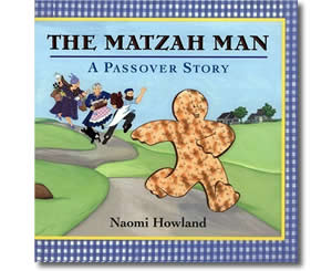 The Matzah Man: A Passover Story - Jewish Passover Books for Kids