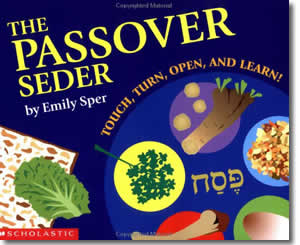 The Passover Seder - Jewish Passover Books for Kids