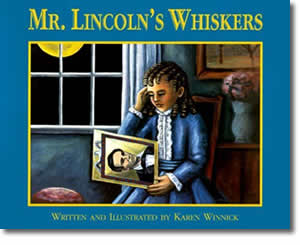 Mr. Lincoln's Whiskers - Presidents Day Books for Kids