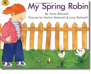 My Spring Robin  - Spring Books for Kids