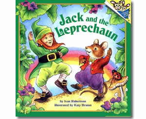 Jack and the Leprechaun - Patrick's Day Books for Kids