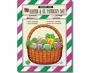 Easter and St. Patrick's Day Thematic Unit- St. Patricks Books for Kids