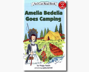 Amelia Bedelia Goes Camping  - Summer Books for Kids
