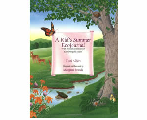 A Kid's Summer Ecojournal: With Nature Activities for Exploring the Season  - Summer Craft Books and Activities for Kids