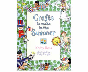 Kids Summer Craft Books And Activities Crafts To Make In Summer