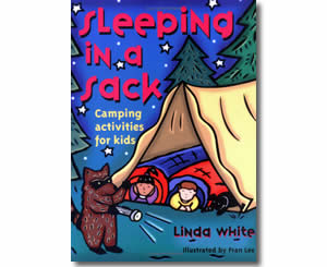 Sleeping In A Sack: Camping Activities for Kids  - Summer Craft Books and Activities for Kids