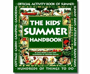 The Kids Summer Handbook  - Summer Craft Books and Activities for Kids