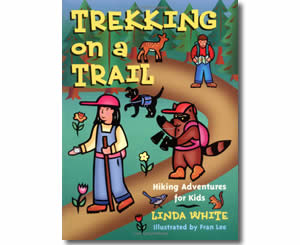 Trekking on a Trail: Hiking Activities for Kids  - Summer Craft Books and Activities for Kids