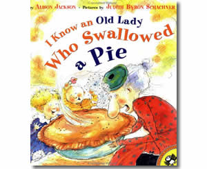 I Know an Old Lady Who Swallowed a Pie - Thanksgiving Books for Kids