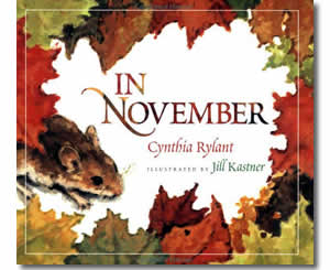 In November - Thanksgiving Books for Kids