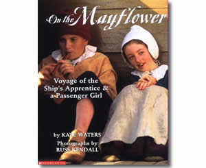 On the Mayflower - Thanksgiving Books for Kids