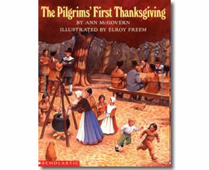 Pilgrim's First Thanksgiving - Thanksgiving Books for Teachers