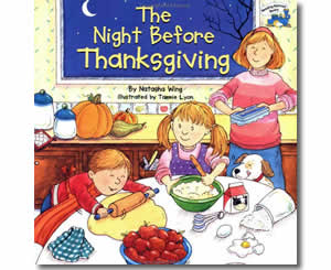 The Night Before Thanksgiving - Thanksgiving Books for Teachers