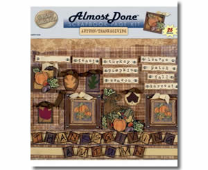 Almost Done Page Kits - Autumn/Thanksgiving - Thanksgiving Crafts for Teachers