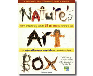 Nature's Art Box - Thanksgiving Crafts for Kids