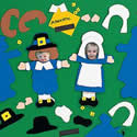 Pilgrim Photo Magnets Craft Kit
