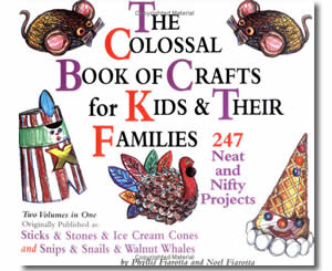 The Colossal Book of Crafts for Teachers and Their Families : 247 Neat and Nifty Projects  - Thanksgiving Crafts for Teachers