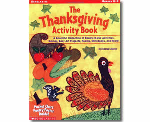The Thanksgiving Activity Book  - Thanksgiving Crafts for Teachers