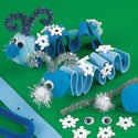 Snowflake Inch Worm Craft