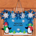Winter Welcome Sign Craft