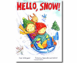 Hello Snow- Winter Books for Kids