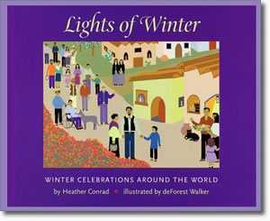 Lights of Winter- Winter Books for Kids