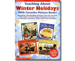 Teaching About Winter Holidays With Favorite Picture Books- Winter Books for Kids