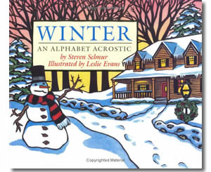 Winter - An Alphabet Acrostic- Winter Books for Kids